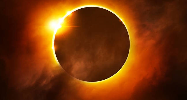 Solar eclipse – Ring of Fire