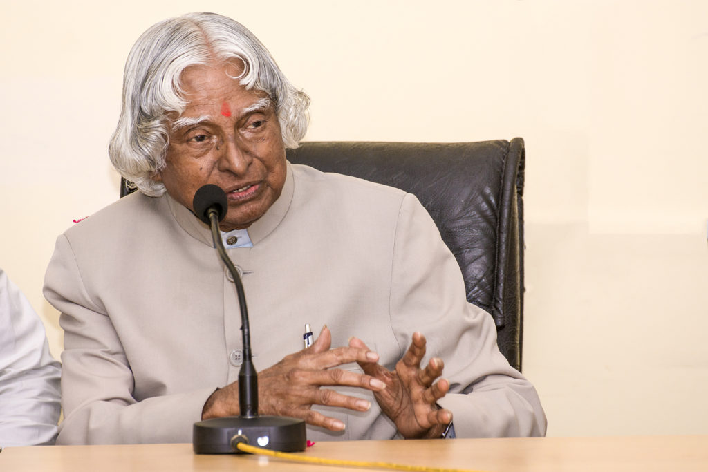 Dr APJ Abdul Kalam President of People No More